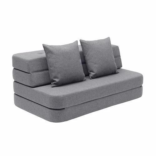 Oprindeligt By Klip Klap KK3 Folde sofa, madras, gæste seng, puf, WV93