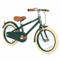 "Banwood NEW Pedalcykel 16"" GREEN & hjelm"