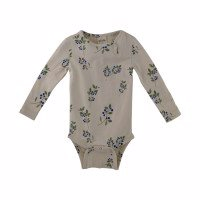 Petit Piao - Body LS Printed // Blueberry