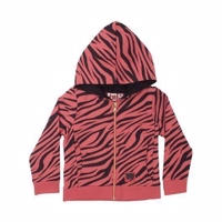 Danefæ/dyr Loud Zip-Up - Drillo Brick Tiger