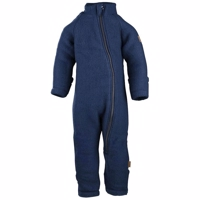 Mikk-Line Uld Baby suit - Blue Night