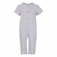 Elodiee Jumpsuit, Indigo - stripes blue/white