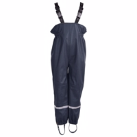 Mikk-Line PU Rain Pants Blue Night Recycled plastic