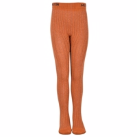Melton, Bamboo Tights Leather Brown og glimmer
