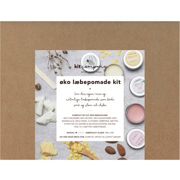 Kit Company - Øko læbepomade kit