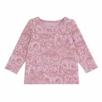 Soft Gallery Limited  Owl Baby Bella T-shirt, Mauve Lavender