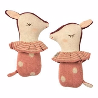 Maileg - Bambi rattle - Rose