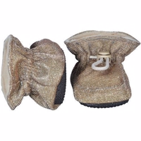 Melton, Booties -  Glitter Antique Gold