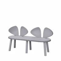 Nofred, Mouse Bench - Grey