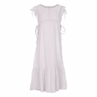 Elodiee Dress, Paula -  sand / white