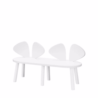 Nofred, Mouse Bench - White