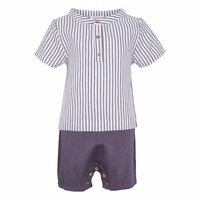 Elodiee Playsuit, Reese - stripes blue/white