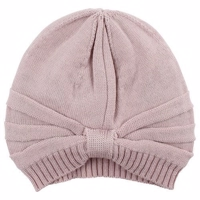 Nordic Label Knit Wool hat -Shadow Rose