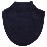 Nordic Label Knit Wool Neckwarmer - Total Eclipse