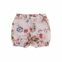 Christina Rohde shorts/bloomers i rosa med blomsterprint