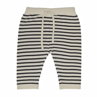 FUB - Baby Loose Pants // Ecru/Dark Navy