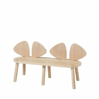Nofred, Mouse Bench - Oak
