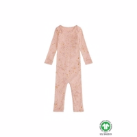 Mini Splash Ben Bodysuit, Peach Perfect Rose